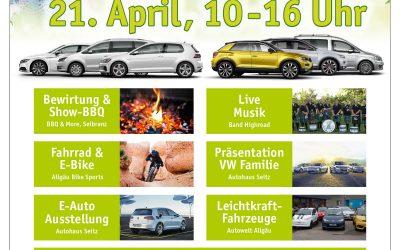 Aixam Leichtkraftfahrzeuge beim Seitz Frühlingsfest